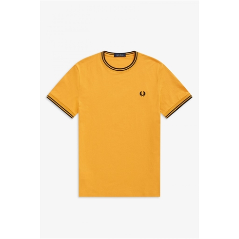 Fred Perry Twin Tipped T-shirt Gul