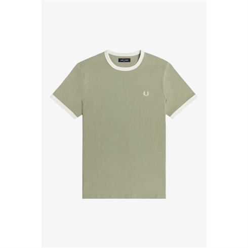 Fred Perry T-shirt Ringer Grøn