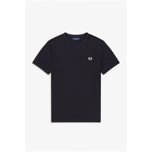 Fred Perry T-shirt Ringer Navy