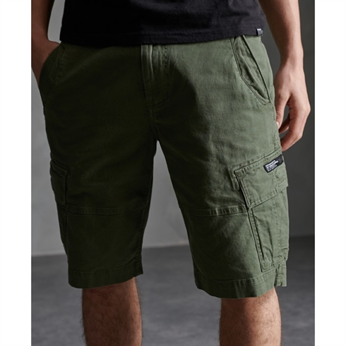 Superdry Cargo Shorts Core Army Grøn