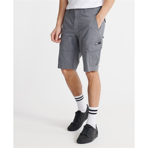 Superdry Cargo Shorts Grå Core