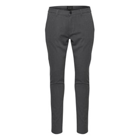Tailored Pants Super Stretch Slimfit Grå Frederic