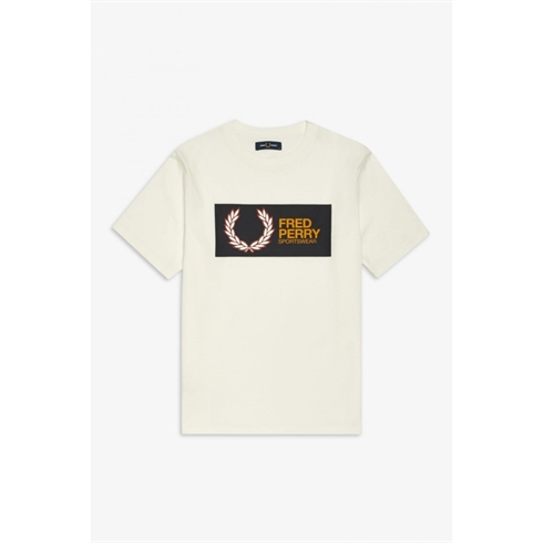 Fred Perry Sport T-shirt Hvid