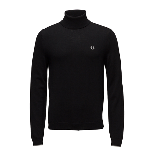 Fred Perry Strik Rullekrave Sort