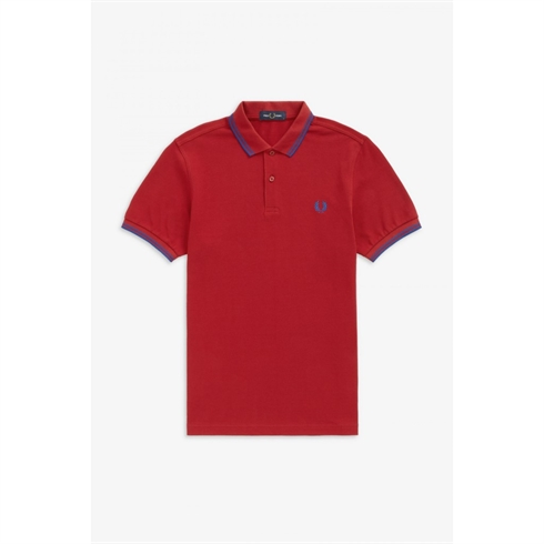 Fred Perry Twin Tipped Polo Rød