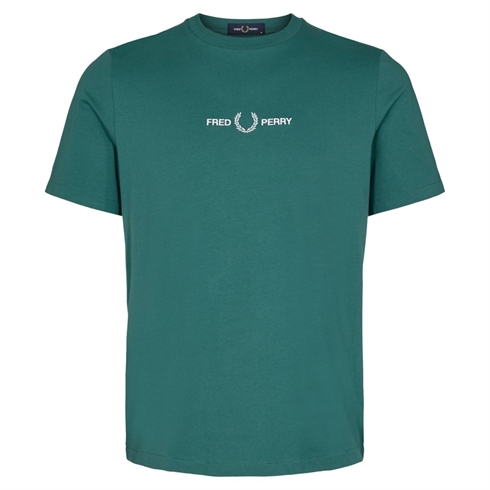 Fred Perry T-shirt Grøn