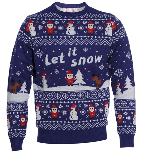 Jule Sweater Let It Snow