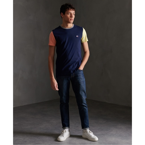 Superdry Baseball T-shirt Navy