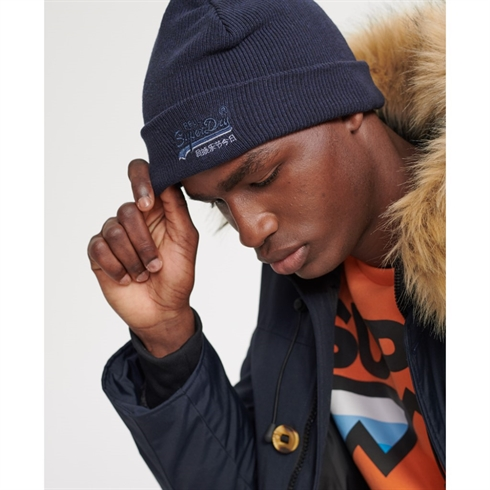 Superdry Orange Logo Hue Navy