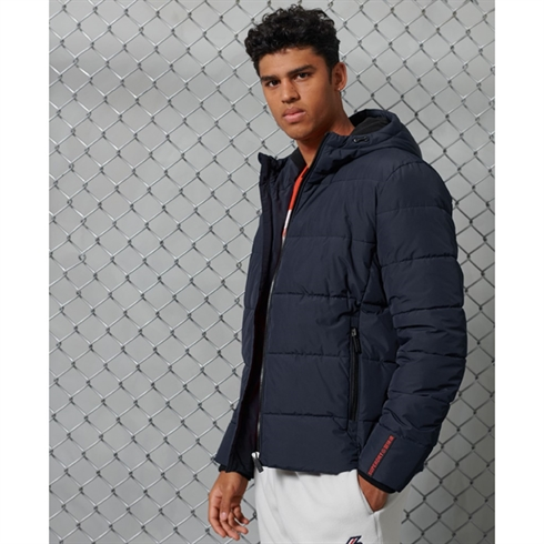 Superdry Sports Puffer Jakke Navy