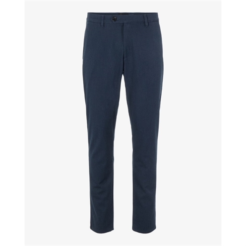 Tailored Pants Super Stretch Slimfit Blå Frederic
