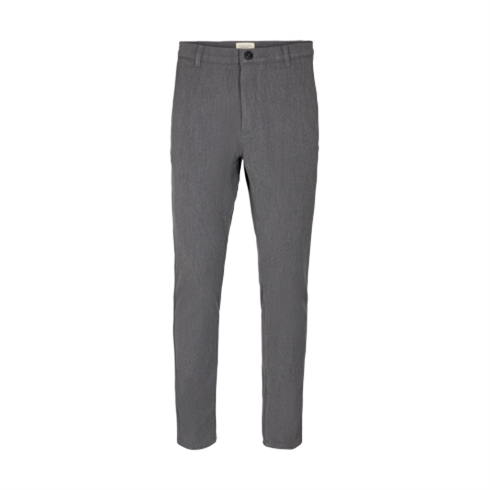Tailored Pants Super Stretch Regularfit Grå Fred