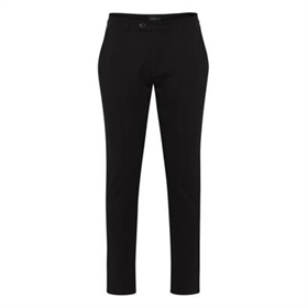 Tailored Pants Super Stretch Regularfit Sort Fred
